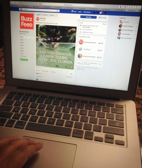 facebook surfing