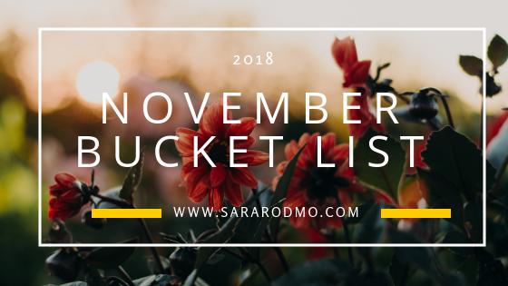 November Bucket List