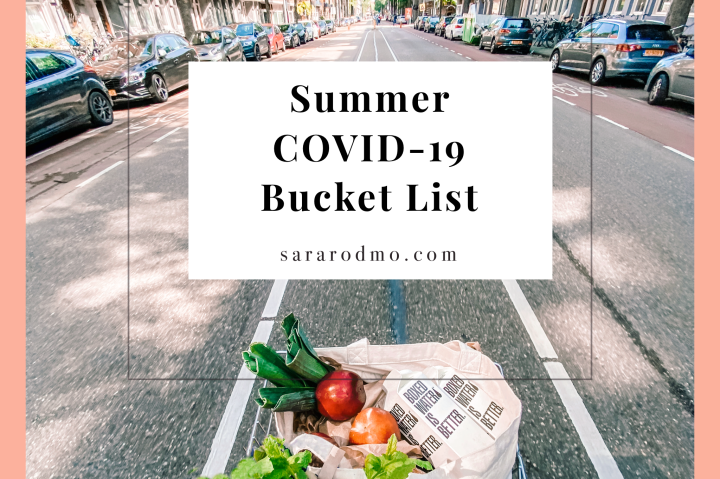 Summer COVID-19 Bucket List
