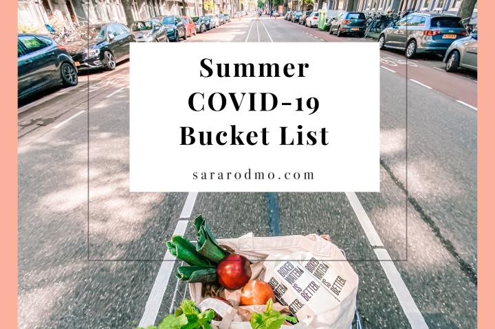 Summer COVID-19 BucketList